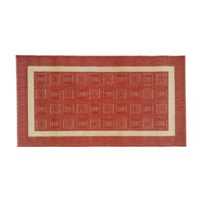 COTTAGE darabszőnyeg 160x230 bordó