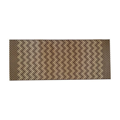 COTTAGE darabszőnyeg 80x200 világos barna