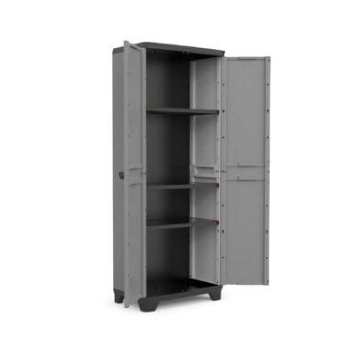 STILO műanyag tároló szekrény magas