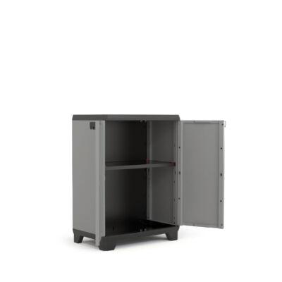 STILO műanyag tároló szekrény alacsony