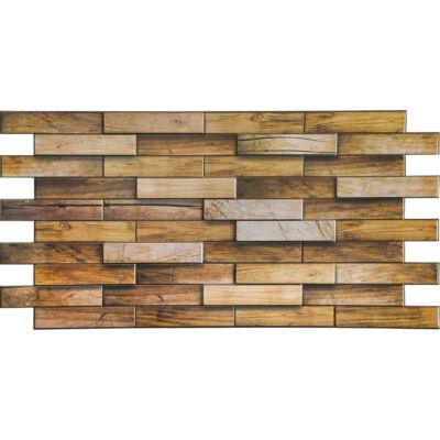 Dekor PVC fali panel mogyoró