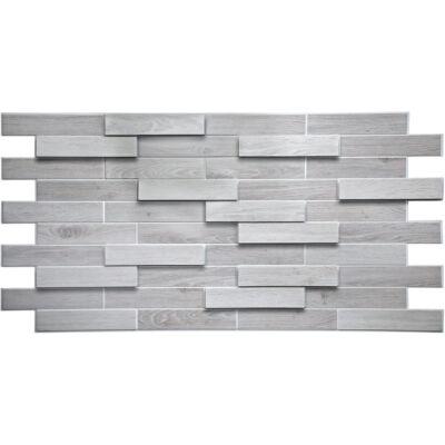 Dekor PVC fali panel fehér tölgy parketta