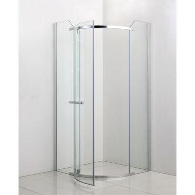 Üveg zuhanykabin 90x90x190