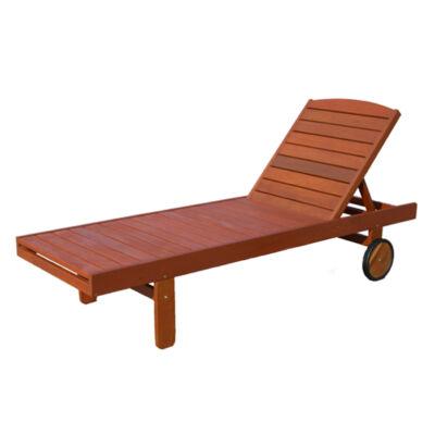 Kerti fa napozó ágy 180x80x55