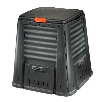 Komposztáló láda 650L fekete