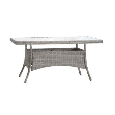 Loco prémium rattan asztal