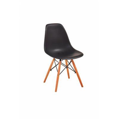 Lunaria szék fekete