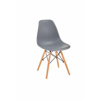 Lunaria szék szürke