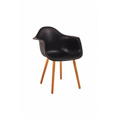 Shell szék fekete