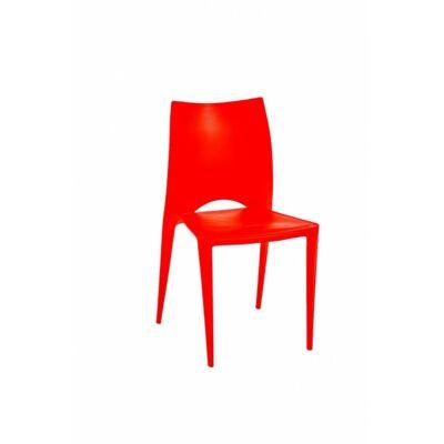 PP szék piros