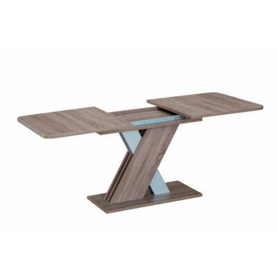 Exel bővíthető asztal Wotan tölgy - alumínium szürke