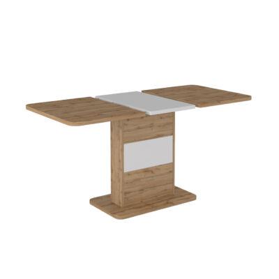Smart bővíthető asztal Wotan tölgy - fekete