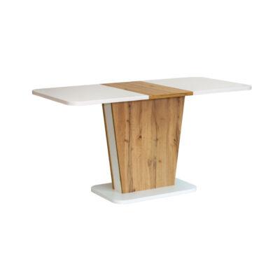 Calypso bővíthető asztal Wotan tölgy - fehér