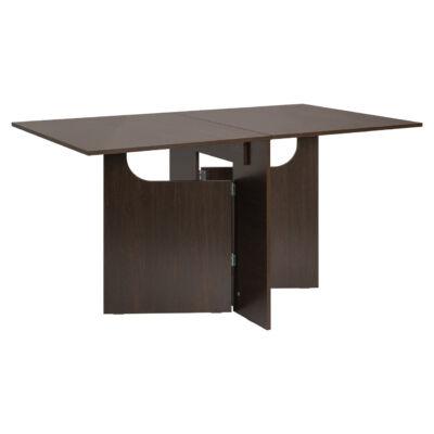 Dublin összecsukható étkező asztal 4060 wenge