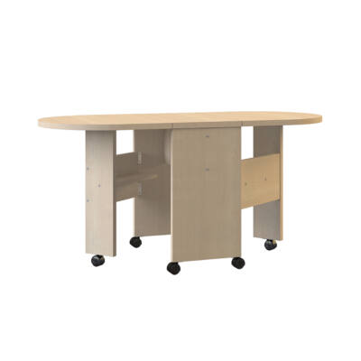 Gloria összecsukható dohányzó asztal 601 tölgy