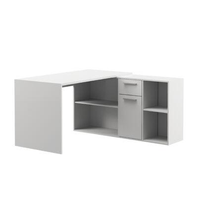 Light sarok íróasztal 03.245 fehér