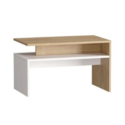 Light dohányzó asztal 03.235 sonoma tölgy-fehér