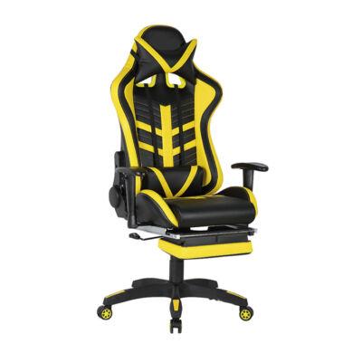 US 78 RACING PRO Gamer szék fekete-sárga