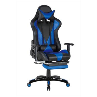 Gamer szék Suzuka fekete-kék