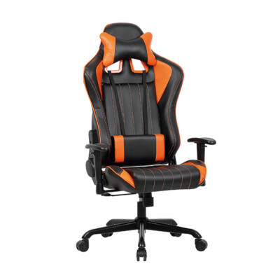 Gamer szék Monaco fekete-narancs