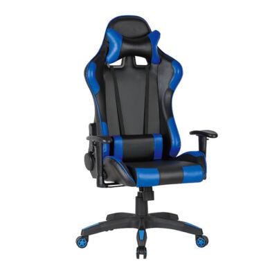 Gamer szék Silverstone fekete-kék