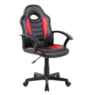 US 92 Euro gamer szék fekete-piros