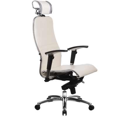 SAMURAI K3 exkluzív irodai forgószék fehér