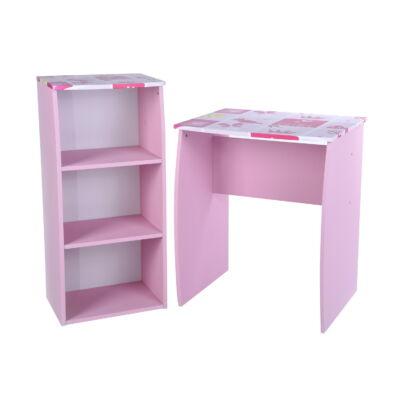 DOMINO számítógép asztal szett pink