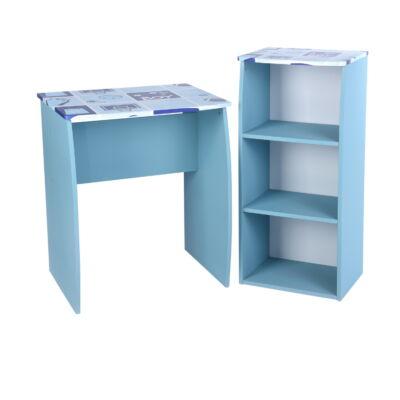 DOMINO számítógép asztal szett kék