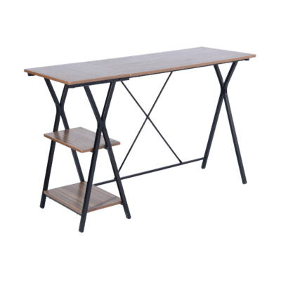 MADDIE fémvázas asztal dió