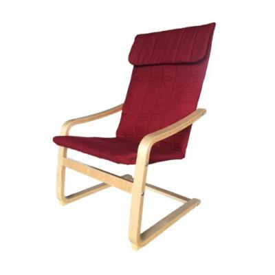 Relax fotel bordó