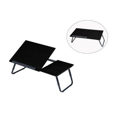 Állítható laptop asztal fekete