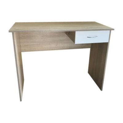 Ajsa számítógép asztal tölgy-fehér