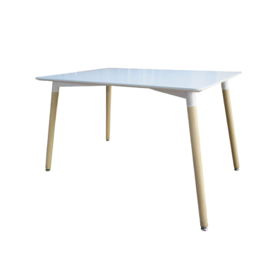 Lotus szögletes asztal fehér