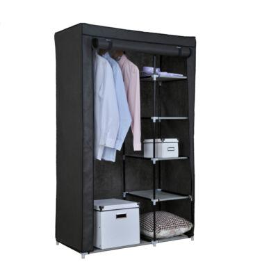 Vászon tároló szekrény 2 zipzáros (2111AL)
