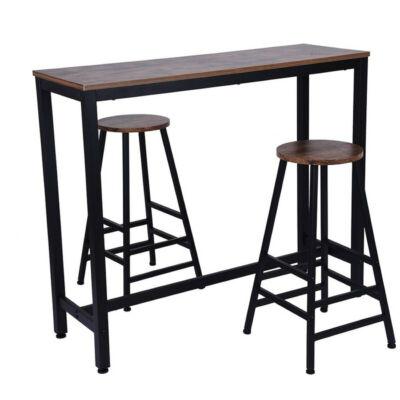 Hogland bárasztal 2 székkel szett