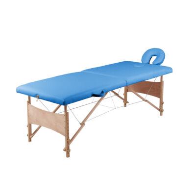 Masszázs ágy kék