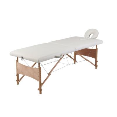 Masszázs ágy fehér