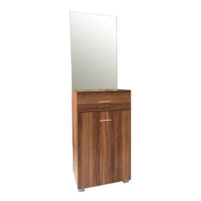 Demi előszoba szekrény tükörrel sötét tölgy