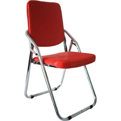 Almeria összecsukható szék piros