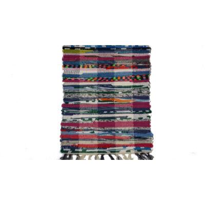 Rongyszőnyeg vegyes szálú 60x90